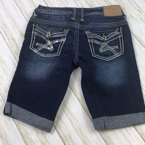 Amethyst Bermuda Shorts Size 1